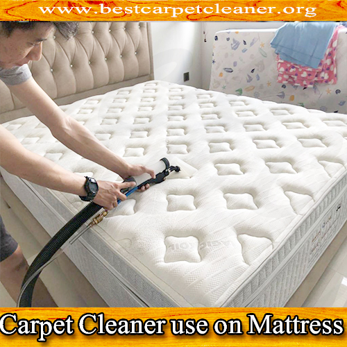can you use a carpet cleaner on mattress